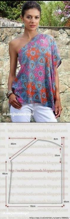 Diy Vestidos, Little Dresses, Sewing Patterns Free, Textiles, Corsage, Crochet, Womens Fashion, Outfits, Sewing Blouses