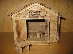 Fairy Garden Flight School Shop by PixiesPatch on Etsy, $45.00