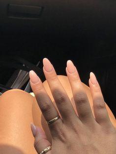 pink powder almond nails pink powder almond nails – Pink nails and flowersWinter long pink nailsGorgeous pink and white Almond Nails Pink, Almond Acrylic Nails, Pink Acrylic Nails, Pink Nails, Natural Almond Nails, Short Almond Nails, Summer Shellac Nails, Short Almond Shaped Nails, Classy Almond Nails