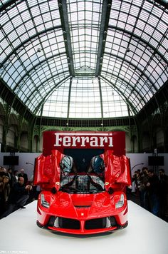 LaFerrari at the Grand Palais in Paris