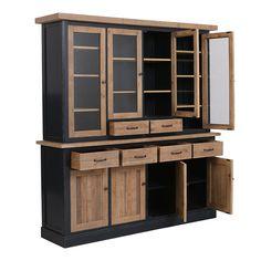Black Furniture, China Cabinet, Loft, The Unit, Storage, Cadillac, Home Decor, Decoration, Table