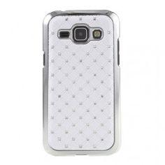Galaxy J1 valkoiset luksus kuoret.