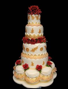 •♥• Wedding Cakes Wedding Cakes Photos on WeddingWire