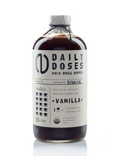 Daily Doses Cold Brew Coffee: