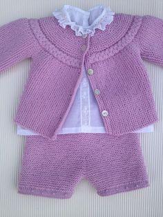 tutorial puntomoderno.com pantalón básico de bebé sobre agujas rectas, español english pattern, #diy