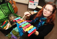 Music therapist Erin Currie is working with Music and Performance Niagara to bring her services to youths in the region.