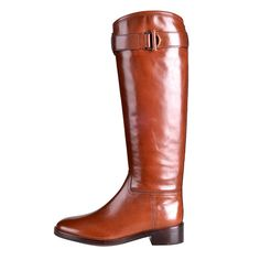Tory Burch leather riding boots, $495, Saks Fifth Avenue.