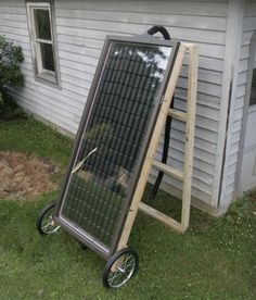 Como hacer una calefacción solar casera v2