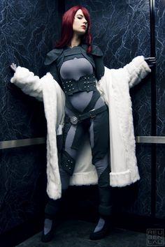 Mitsuru cosplay from persona 4 arena by ~jinglebooboo