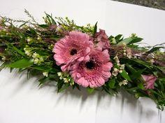 Gry`s lille hjørne: Slik lager du borddekorasjoner Sisal, Floral Wreath, Wreaths, Rose, Plants, Home Decor, Floral Crown, Pink, Decoration Home