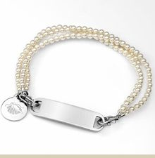 Personalized Pearl Bracelet- going by Nadine at law school - grad date? Instead of a class ring which I never got