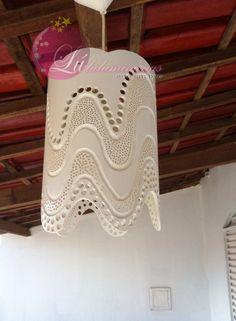 Luluminárias: Luminária de Teto feita com cano PVC de 200 milimetros