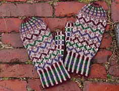 Ravelry: Munjoy Hill Mittens pattern by Mary O'Shea