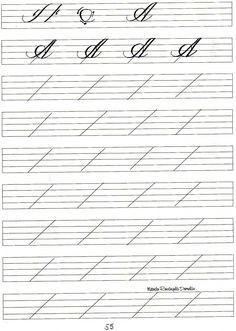 caligrafia artistica exercicios - Pesquisa Google