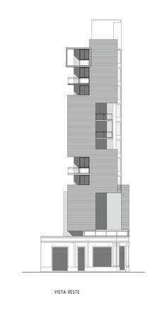 Galería - Conjunto de vivienda Torre del Molino / Estudio Castellitti-Bertoni Arqs & Asoc. - 16