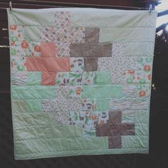 gemini stitches: Jungle Book baby quilt