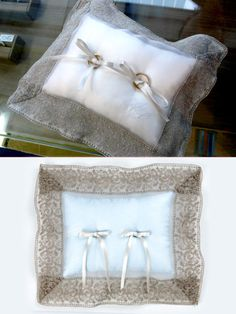 バーニーズ ニューヨーク(BARNEYS NEW YORK) Ring Bearer Pillows, Ring Pillow Wedding, Cushion Ring, Wedding Rings, Throw Pillows, Bridal, Handmade, Bags, Jewelry