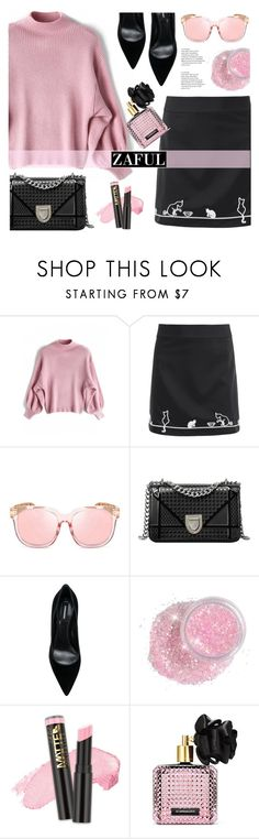 """Untitled #118"" by justmyworld ❤ liked on Polyvore featuring Dsquared2, L.A. Girl and Victoria's Secret"