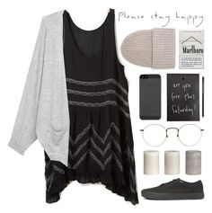 """""""Forgotten"""" by thalia-h ❤ liked on Polyvore featuring Free People, rag & bone, Tak.Ori and Vans"""