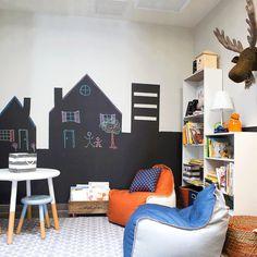 Vantagens e desavantagem da parede lousa - A Casa que a minha Vó queriaA Casa que a minha Vó queria