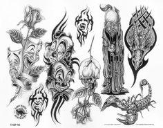 Clown Tattoo Designs on Evil Clown Tattoos Designs And Meaning Good Clowns, Evil Clowns, Evil Clown Tattoos, Traditional Tiger Tattoo, Tribal Cross Tattoos, Pencil Tattoo, Chicano Drawings, Chicano Art, Small Tattoos With Meaning