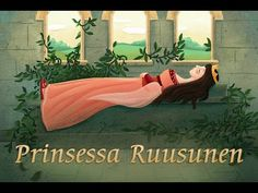 Prinsessa Ruusunen - YouTube Fairy Tale Story Book, Fable, Android, Art School, Kids, Youtube, Books, French, Sleeping Beauty