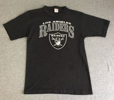 RAIDERS Shirt 80's Vintage/ Los Angeles LA by sweetVTGtshirt Raiders Shirt, Football Usa, Vintage Football, Make Color, Mens Tops, T Shirt, Stuff To Buy, Shopping, Sport