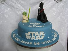 Easy Star Wars Cake Ideas | star wars birthday cake this was actually a 40th birthday cake because ...