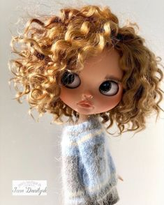Ooak Dolls, Blythe Dolls, Art Dolls, Pretty Dolls, Beautiful Dolls, My Little Pony Tattoo, Margaret Keane, Dolly Doll, Cute Baby Dolls