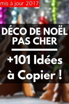 Déco de Noël Pas Cher : +101 Idées à Copier !