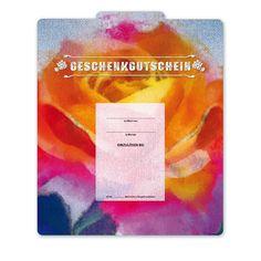 Multicolor-Gutschein FA256 für den Modehandel und Jeansstores Things To Do, Cards, Gifts
