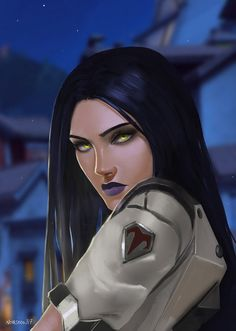 Widowmaker by Noir-snow on DeviantArt Character Concept, Character Art, Character Design, Concept Art, Overwatch Widowmaker, Fanart Overwatch, Fantasy Characters, Female Characters, Amelie