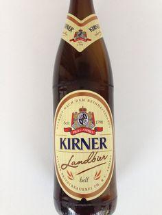 Kirner Landbier. 0,5 lt, 4,8% Kirner Privatbrauerei Ph.&C.Andres