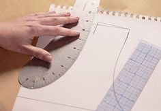 Learn How to Draft your own T Shirt pattern on Creativebug