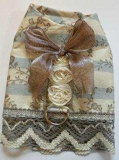 Yorkie Dog Harness Vest Victorian Elegance Tea Cup by lindakuhn1, $30.00