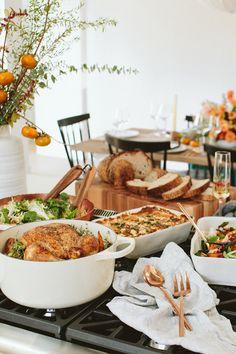 Thanksgiving party ideas @crateandbarrel #crateweddingx100lc #cratewedding
