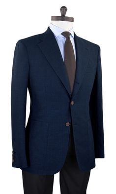 Luxire — Luxire jacket constructed in Minnis Fresco-Blue...