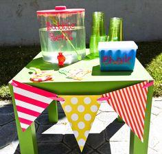 Bubble Station....Emeri's 1st Birthday Party