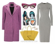 b468a6ee9 Via fashionbombdaily.com New Balance 574, Grey Midi Dress, Glam Doll,  Maternity