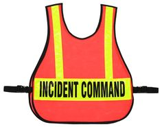 003 Incident Command Vest - Warrior Fire Equipment