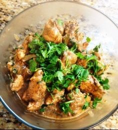 This is a rendition of the Indian dish of black pepper chicken curry. Marinate chicken in 1 cup yogurt and two tsp black pepper for a couple of hours. Heat butter in a pot and add onions and green …