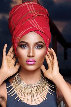 Do wrap a beautiful scarf around hair on those days of protective styling.