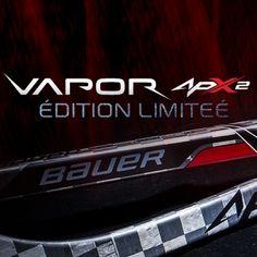 Crosse Bauer Vapor APX2 édition limitée ! Un design inédit pour la plus haut de gamme des crosses Bauer !