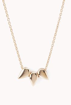 Spike Charm Necklace | FOREVER21 - 1000128469