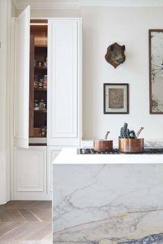 Walnut cabinet interior ❤️