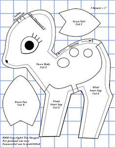 bambi muster II | http://lh5.ggpht.com/_ePXge4gV1kY/Sbr1wx-zPWI/AAAAAAAAFwI/FC0wM2FNYNE/s400/Fawn-Pattern1.jpg