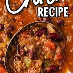Good Healthy Recipes, Healthy Food, Yummy Food, Old Fashioned Chili Recipe, Best Lobster Tail Recipe, Homemade Beef Stew, Turkey Chili, Chili Recipes, Comfort Foods