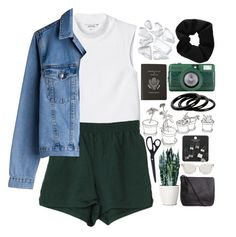 """""""Untitled #891"""" by akp123 ❤ liked on Polyvore featuring Monki, INDIE HAIR, HAY, Furla, Pieces, Dolce&Gabbana, Topshop and Smythson"""