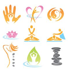 Icons spa massage on VectorStock                                                                                                                                                     Mais