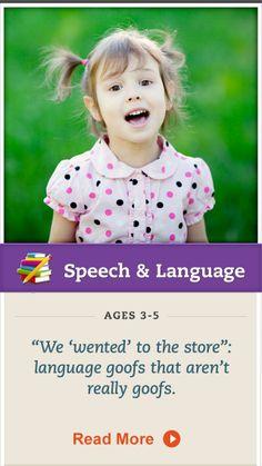Learn about preschool language development when it comes to past-tense verbs. Click for more. #SpeechandLanguage Grammar Activities, Activities For Kids, Abc Mouse, Parent Newsletter, Reading Help, Phonics Reading, Speech Pathology, Nikko, Language Development